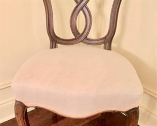 """87. Set of 4 Side Chairs w/ Linen Upholstery (20"""" x 18"""" x 36"""")"""