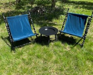 6 matching chairs from Italy- all new