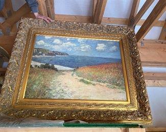 Claude Monet reproduction