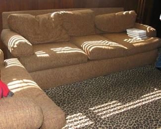 Good couch and loveseat  BUY IT NOW !!