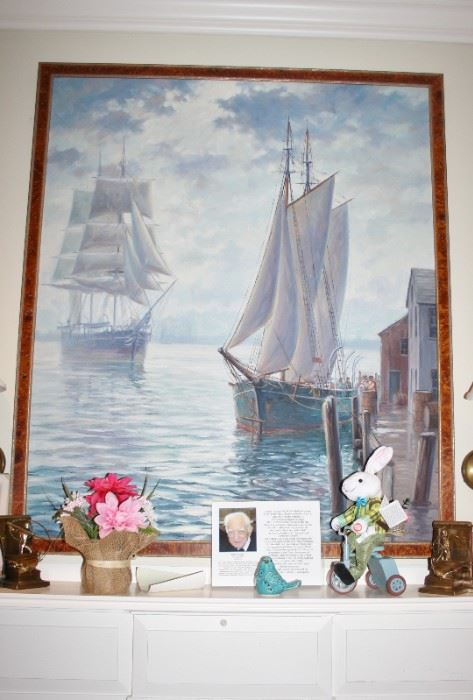 Louis Sylvia painting