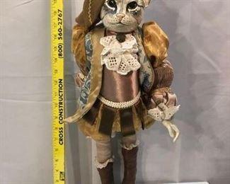 Fancy Cat Marionette