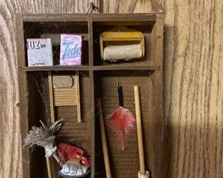 Miniature laundry art
