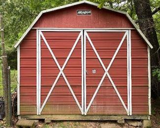 Morgan Portable Metal Building 12x24