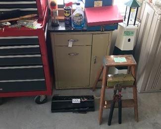 Vintage Table, Tools