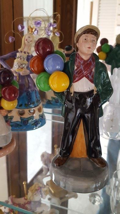 Royal Doulton balloon boy porcelain figurine