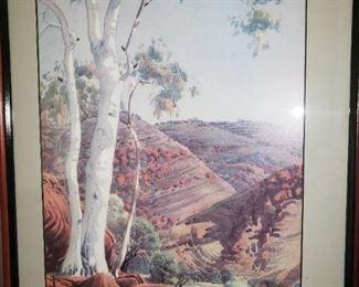 signed by Albert Namatjra - Australian