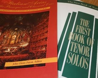 Lots of Sheet Music and books on Music