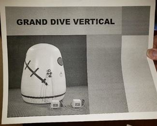 Grand Dive Vertical Hyberaric Chamber with New Life Family Oxygen Content Rator. PRESALE on this Set up. $11,000. Call  if interested.