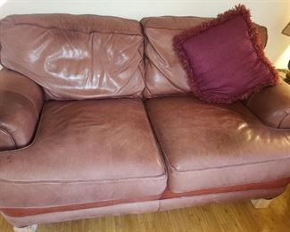 Leather Love Sofa by Emerson Leather