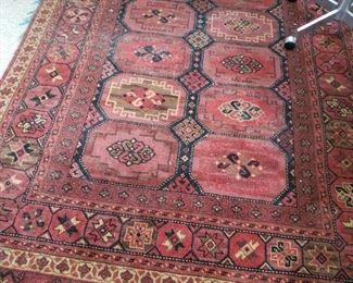 Large Persian Wool Carpet