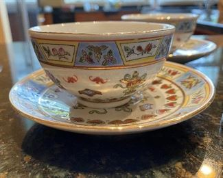 ITEM 67: Afternoon tea set, with four cups and saucers, and four dessert plates.  $45