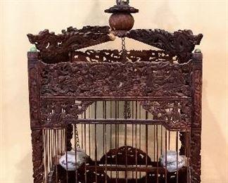 ITEM 126: Antique Chinese Birdcage  $375
