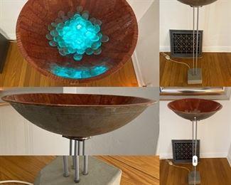 One-Of-A-Kind Lamp Bird-Bath-light-fountian