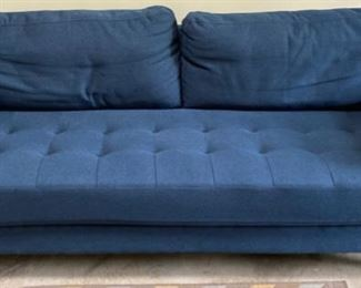 Modern Sofa by Lifestyle Solution in Teal-Blue upholstery