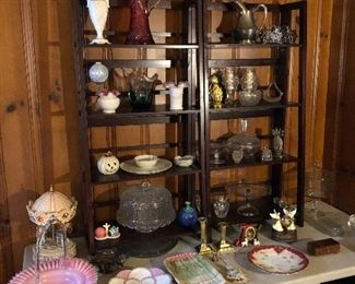 Art glass, crystal, porcelains and more