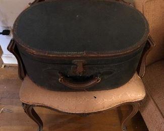 Vintage luggage closed