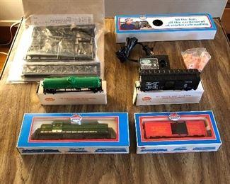 Model Power train set w/ accessories NIP