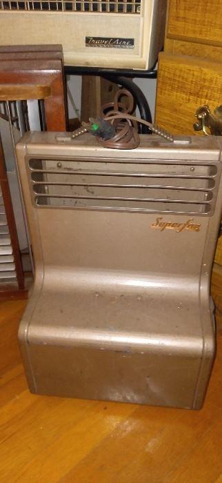 Vintage cooling fan