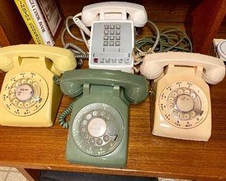 Western Electric telephones