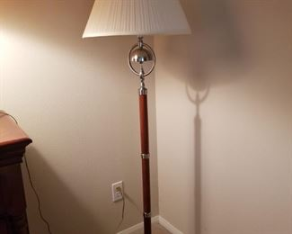 Tall floor lamp $45.00