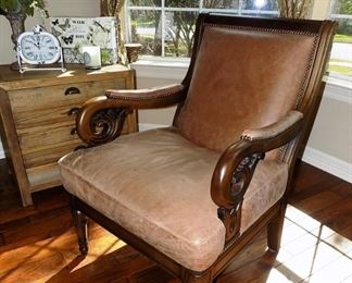 Leather Chair $400