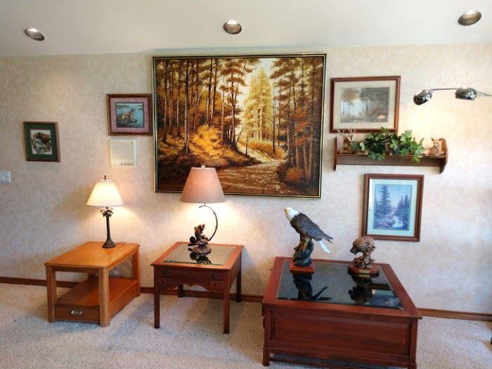 Living Room:  2 Wood