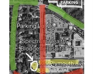 Please refer to this Parking Map below, as there is NO Parking allowed in front of the house. Be prepared to walk a bit. Thank you!