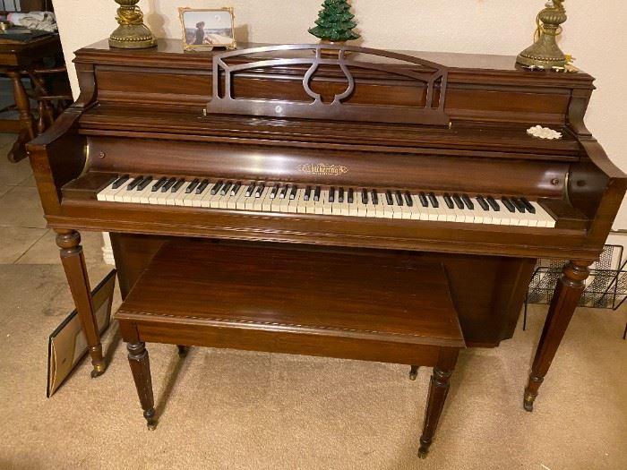 Beautiful Chickering piano