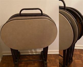 Vintage Oval TV trays