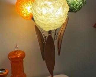 Mid-Century Spaghetti Lamp