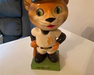 Vintage Detroit Tigers Bobble Head Doll