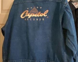 Vintage Capitol Records Denim Jacket (Promotional Employee Jacket)