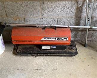 Dayton Forced Air Heater
