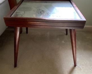 Mirrored Top Table