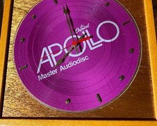 Capitol Apollo Master Audiodisc Wall Clock