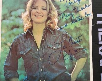 La Costa Capitol Records Autographed Promo Photo