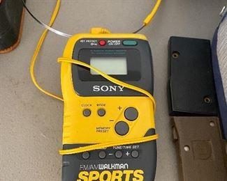 Vintage Sony Sports Walkman