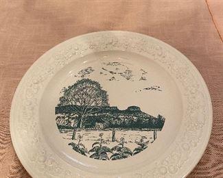 Vintage Pilot Mountain Souvenir Plate
