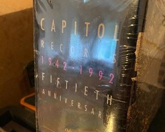 Capitol Records 50th Anniversary Sealed CD Set