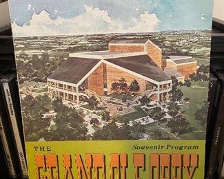 Grand Ole Opry Souvenir Program