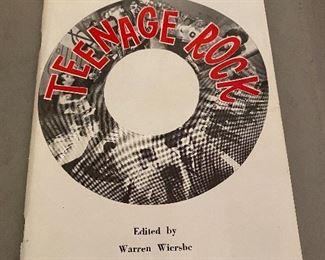 Teenage Rock Booklet