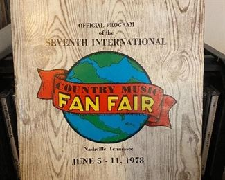 1978 Country Music Fan Fair Program