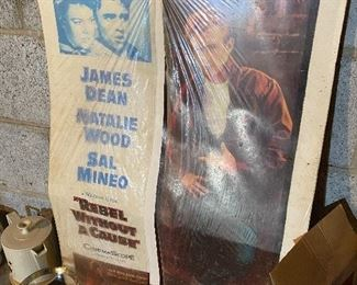 James Dean Movie Poster