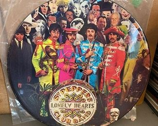 Sgt. Peppers Lonely Hearts Club Band Picture Disc