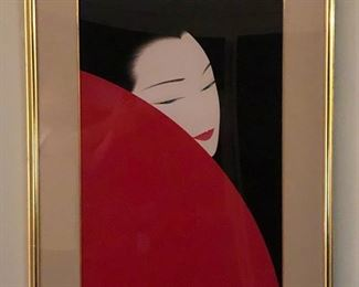 Artist:  Ichiro Tsuruta $5,000 Medium: Original artwork Airbrush on Illustration Board  Size:  28.5 x 18.75 inches