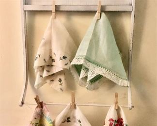 Hang your favorite hankies