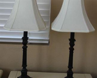 """#2.  $50.00 Pair lamps 24"""""""