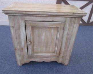 Nightstand with Cabinet,