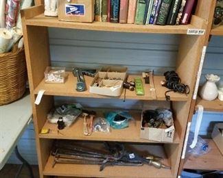 Items in Morgan building.